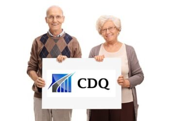 Senior couple posing together and holding a blank white signboard isolated on white background